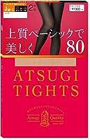 [アツギ] タイツ 80デニール アツギ (Atsugi Tights) お腹・お尻まわりゆったりサイズ 上質ベーシックで美しく Jサイズ 80D〈2足組〉 レディース FP13872P シェリーベージュ 日本 JM~L (日本サイズ2L相当)