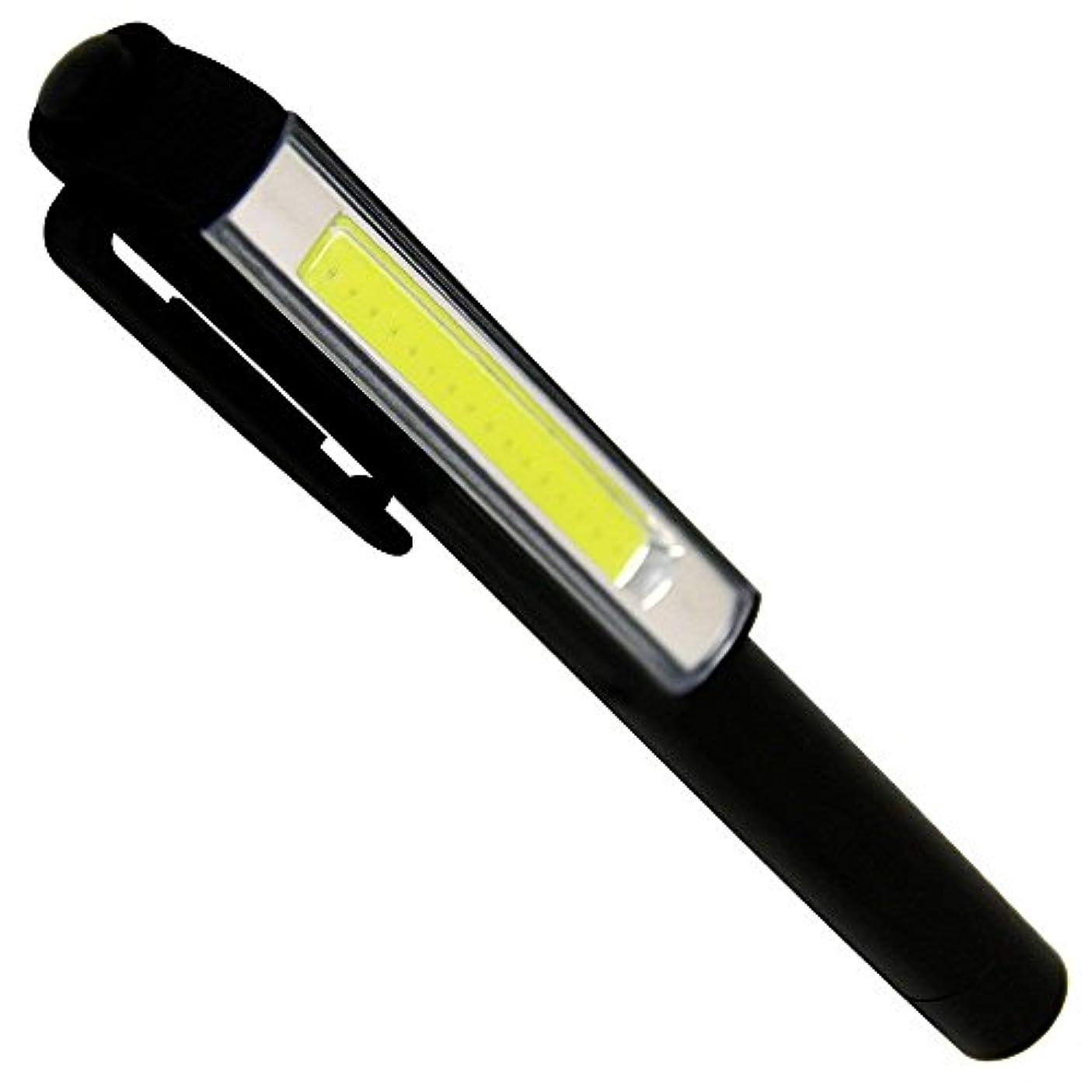 満足アレルギー無人WEIMALL 2個セット LED ハンディライト 懐中電灯 COB ライト クリップ ペンライト ワークライト マグネット付