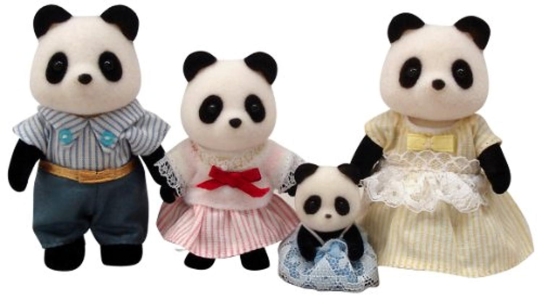 シルバニアファミリー 人形セット パンダファミリー