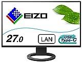 EIZO FlexScan EV2795-BK (27.0型/2560×1440/フレームレスモニター/アンチグレアIPS/疲れ目軽減/ブラック)