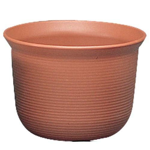 アイリスオーヤマ 鉢 セーヌ 中鉢 10号 ブラウン