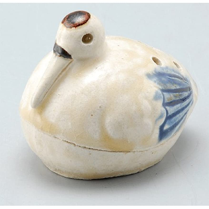 進化家終了しました香炉 飾り香炉(鶴) [H5.6cm] HANDMADE プレゼント ギフト 和食器 かわいい インテリア