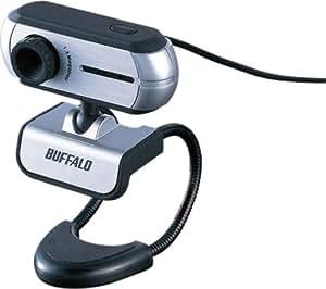 BUFFALO CMOS130万画素 WEBカメラ ヘッドセット付 ブラック BWC-130H01/BK