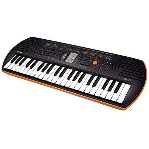 CASIO(カシオ) 44ミニ鍵盤 電子キーボード SA-76  B00416WHV4 1枚目