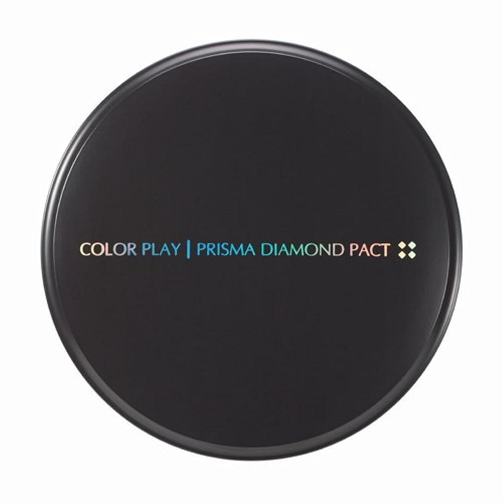 ルーレーザ試してみる【It's skin(イッツスキン)】 Prisma Diamond Pact プリズマ ダイアモンド パクト SPF25,PA++ 21号:ライトベージュ