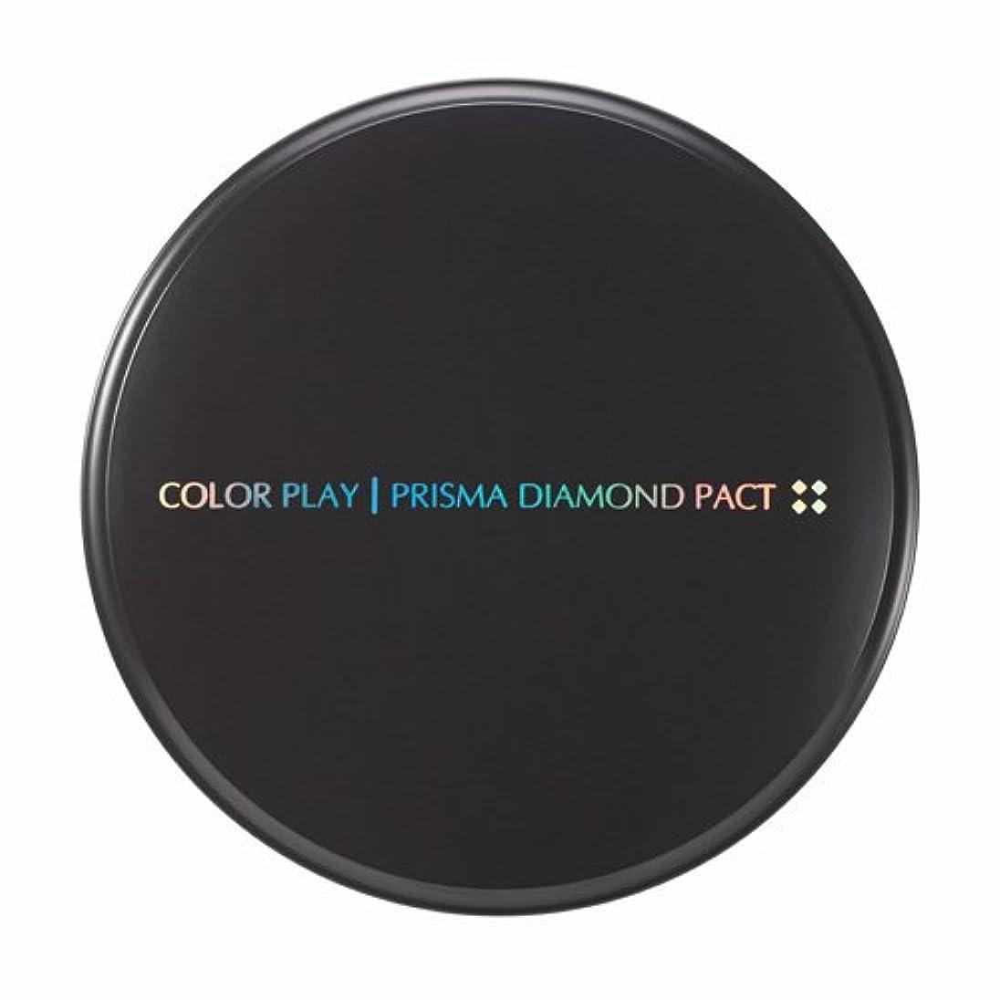 嬉しいですまだ歯痛【It's skin(イッツスキン)】 Prisma Diamond Pact プリズマ ダイアモンド パクト SPF25,PA++ 21号:ライトベージュ
