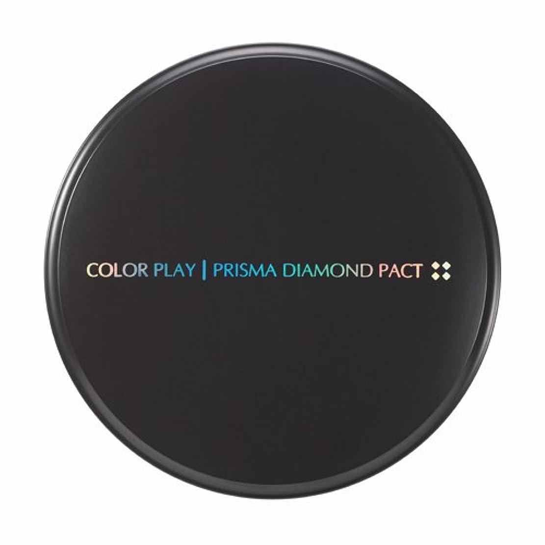 学校雄弁家緊張【It's skin(イッツスキン)】 Prisma Diamond Pact プリズマ ダイアモンド パクト SPF25,PA++ 21号:ライトベージュ