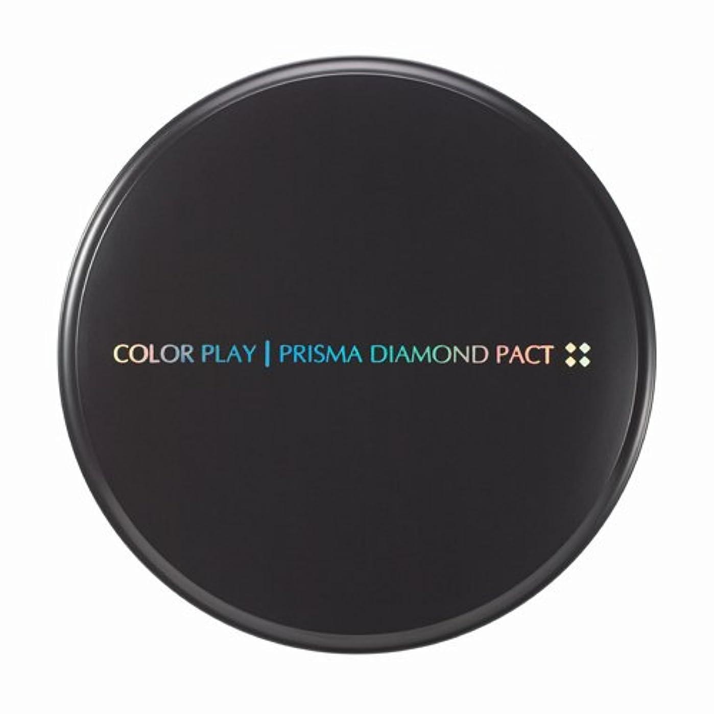 にぎやか神経障害ドラマ【It's skin(イッツスキン)】 Prisma Diamond Pact プリズマ ダイアモンド パクト SPF25,PA++ 21号:ライトベージュ