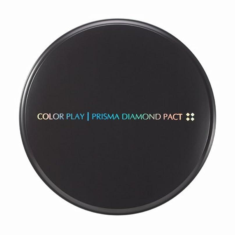 筋肉の金曜日エコー【It's skin(イッツスキン)】 Prisma Diamond Pact プリズマ ダイアモンド パクト SPF25,PA++ 21号:ライトベージュ