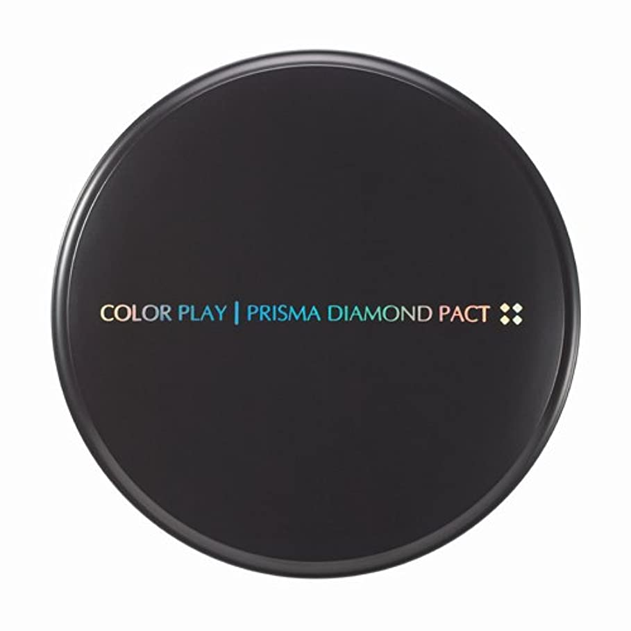 スローガン個人的に火傷【It's skin(イッツスキン)】 Prisma Diamond Pact プリズマ ダイアモンド パクト SPF25,PA++ 21号:ライトベージュ