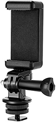 Neewer Phone Holder Camera Hot Shoe Mount Adapter Kit for GoPro Hero 7 6 5,DJI OSMO Action,iPhone X 8 7 6 Sams