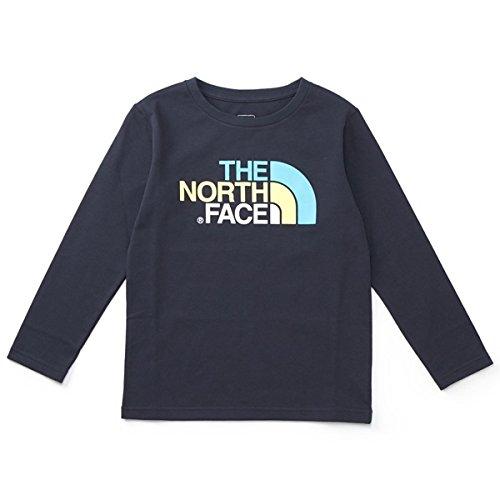 ザ・ノース・フェイス(THE NORTH FACE) 【THE NORTH FACE】Tシャツ(キッズ ロングスリーブカラフルロゴティー)【アーバンネイビー/120】