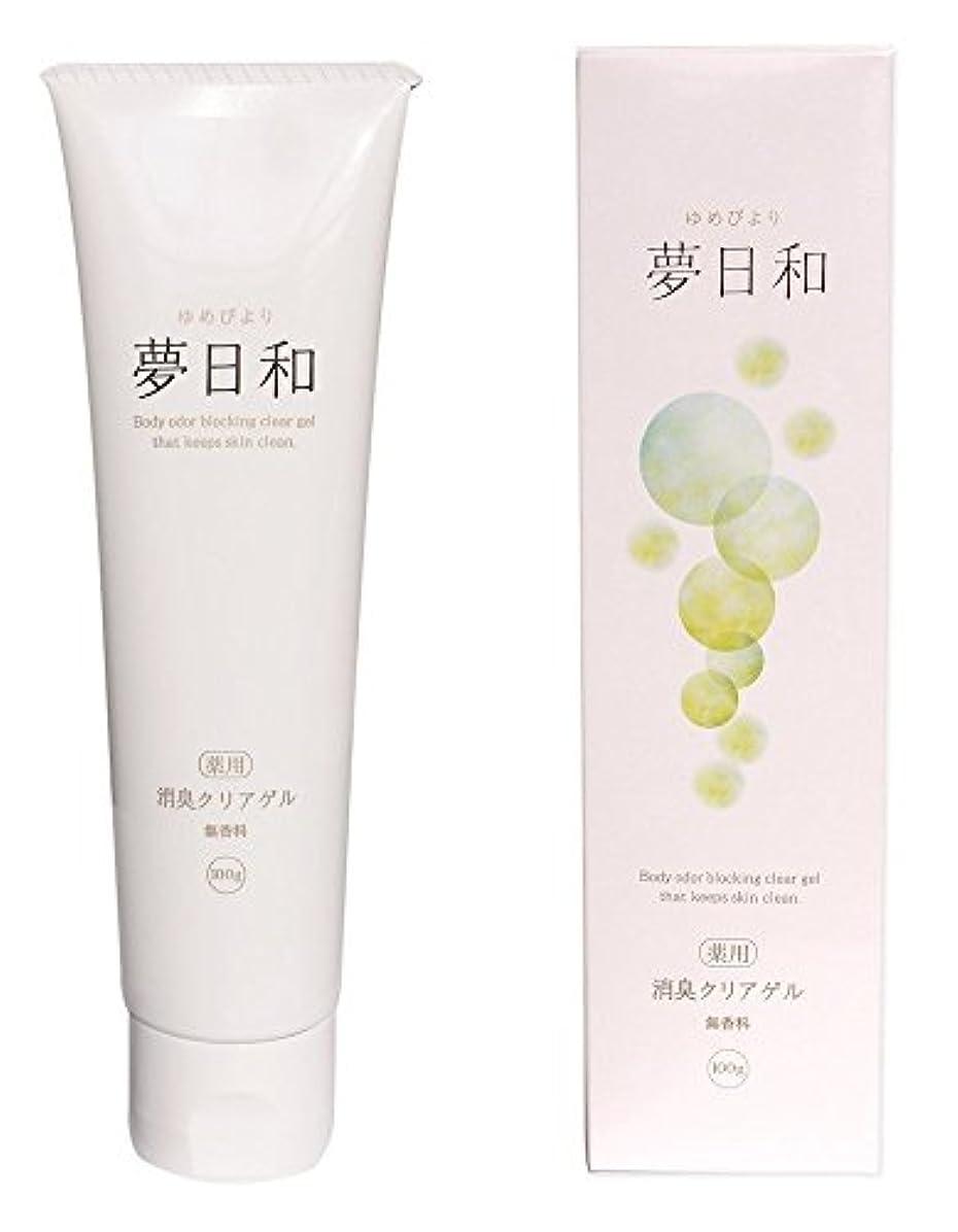ペニー受ける消費夢日和 【医薬部外品】薬用消臭クリアゲル