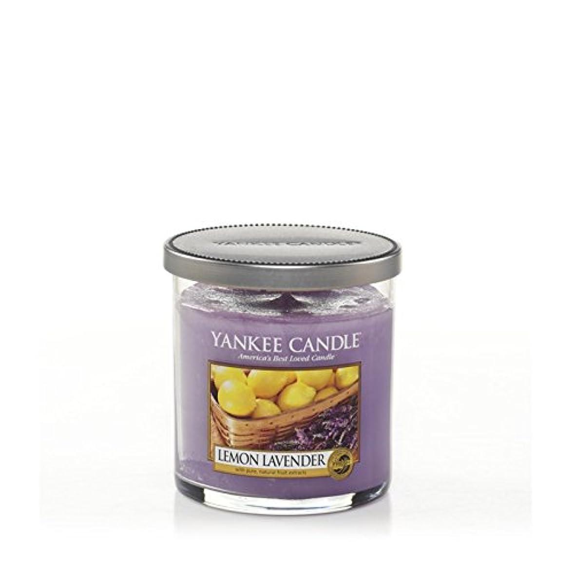 空洞決定拍車ヤンキーキャンドルの小さな柱キャンドル - レモンラベンダー - Yankee Candles Small Pillar Candle - Lemon Lavender (Yankee Candles) [並行輸入品]