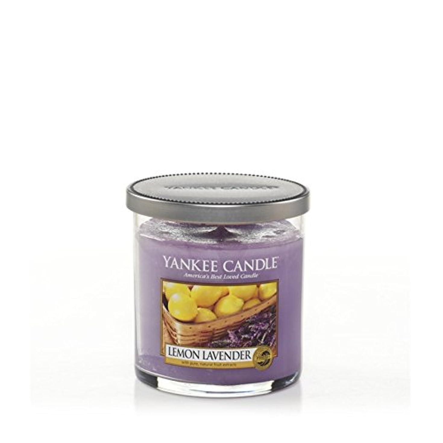 足首危険な偏差Yankee Candles Small Pillar Candle - Lemon Lavender (Pack of 2) - ヤンキーキャンドルの小さな柱キャンドル - レモンラベンダー (x2) [並行輸入品]