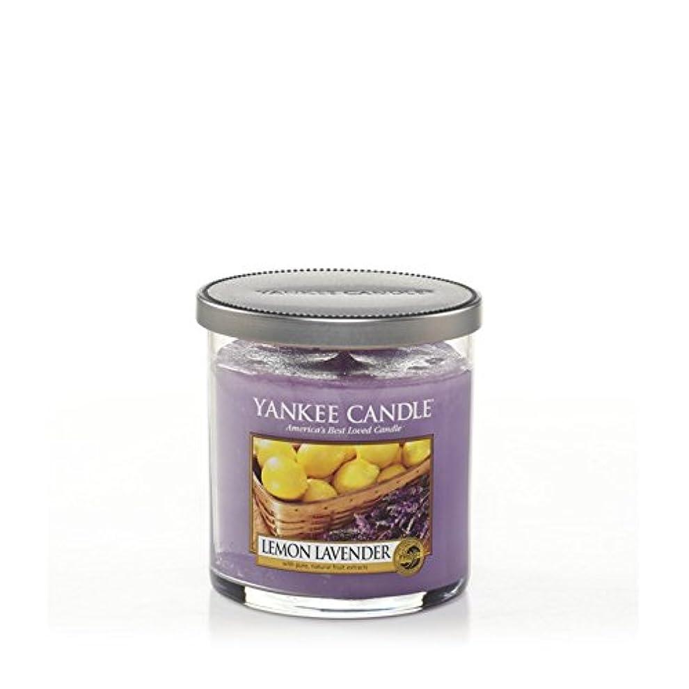 家禽高くページYankee Candles Small Pillar Candle - Lemon Lavender (Pack of 2) - ヤンキーキャンドルの小さな柱キャンドル - レモンラベンダー (x2) [並行輸入品]
