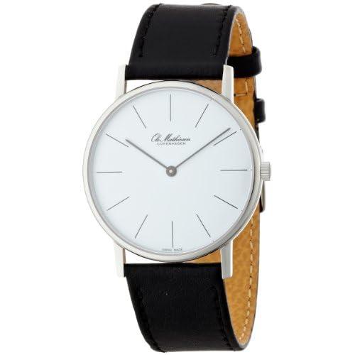 [オーレ・マティーセン]OLE MATHIESEN 腕時計 LINE.WHITE DIAL OM2.37 OM2.37 メンズ 【正規輸入品】