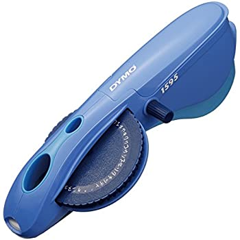 ダイモ テープライター M-1595 ひらがな・カタカナ・アルファベット・数字 青 DM1595BU