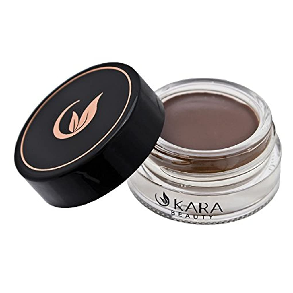 反乱正しくボルトKARA Beauty Dipbrow Gel Eye Brow Eyebrow High-Pigment (Medium Brown)