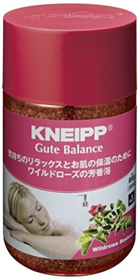 硫黄パイプ後継クナイプ バスソルト グーテバランス ワイルドローズの香り 850g