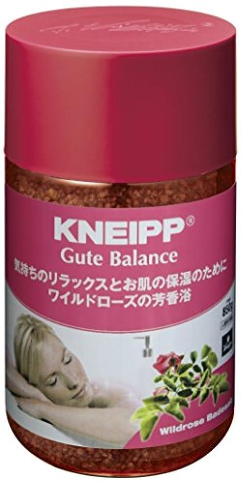 メイン禁止傾向があるクナイプ バスソルト グーテバランス ワイルドローズの香り 850g