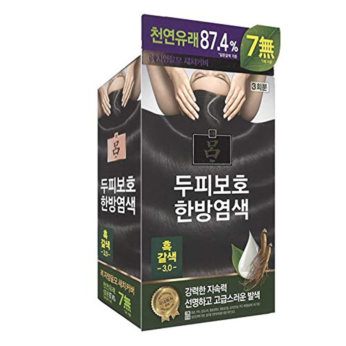 持続的ブリッジシティアモーレパシフィック呂[AMOREPACIFIC/Ryo] Jayang Yunmoグレーヘアカバー 3.0 黒褐色(Blackish Brown)