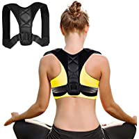 LIDIWEE Posture Corrector for Men and Women, Adjustable Posture Brace Comfortable Back Brace Clavicle Support Device