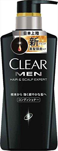 ユニリーバ クリアフォーメン ヘア&スカルプエキスパート コンディショナー 本体 350g×12本セット  清涼感溢れるスパークリングフルーティの香り(CLEAR HAIR & SCALP EXPERT)