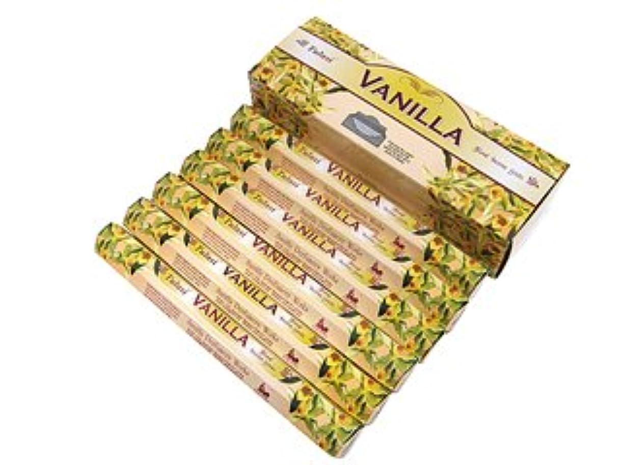 瞑想するである割り当てますTULASI(トゥラシ) バニラ香 スティック VANILLA 6箱セット