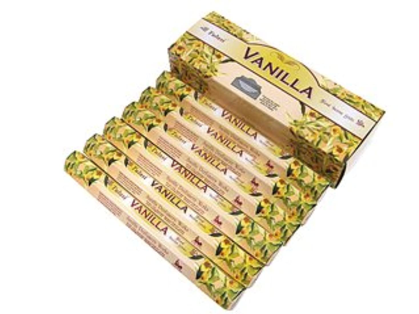 アンドリューハリディ前売微妙TULASI(トゥラシ) バニラ香 スティック VANILLA 6箱セット