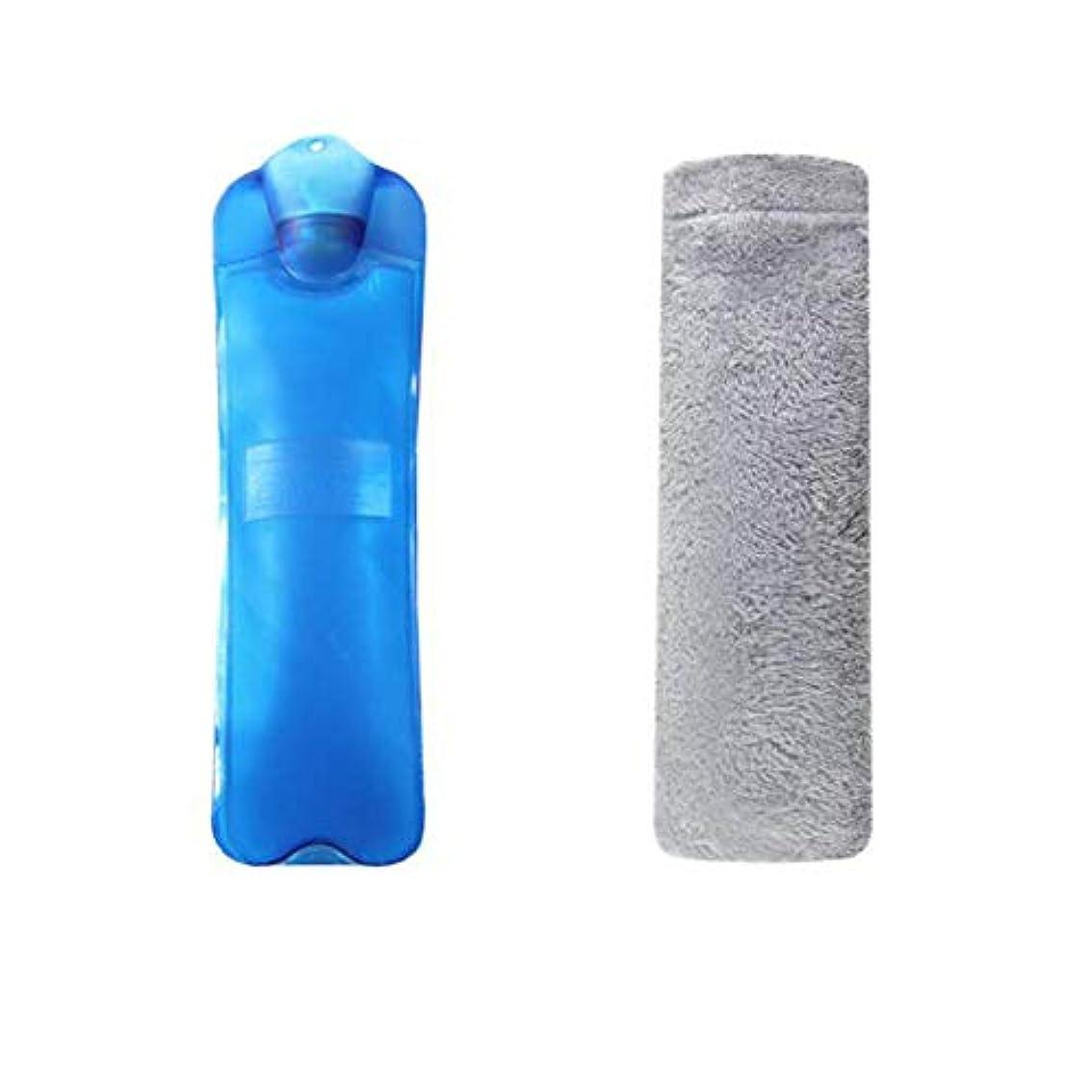 不快な関与する永久に温水ボトル大温水ボトル2Lは冬に暖かく保ちます #5