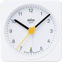 【正規輸入品】 BRAUN(ブラウン) 目覚まし時計 BNC002WHWH