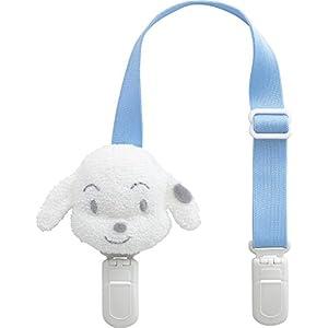 犬印本舗 INUJIRUSHI Baby 日本製 スタイに早変わり ハンカチクリップ サックス B352006