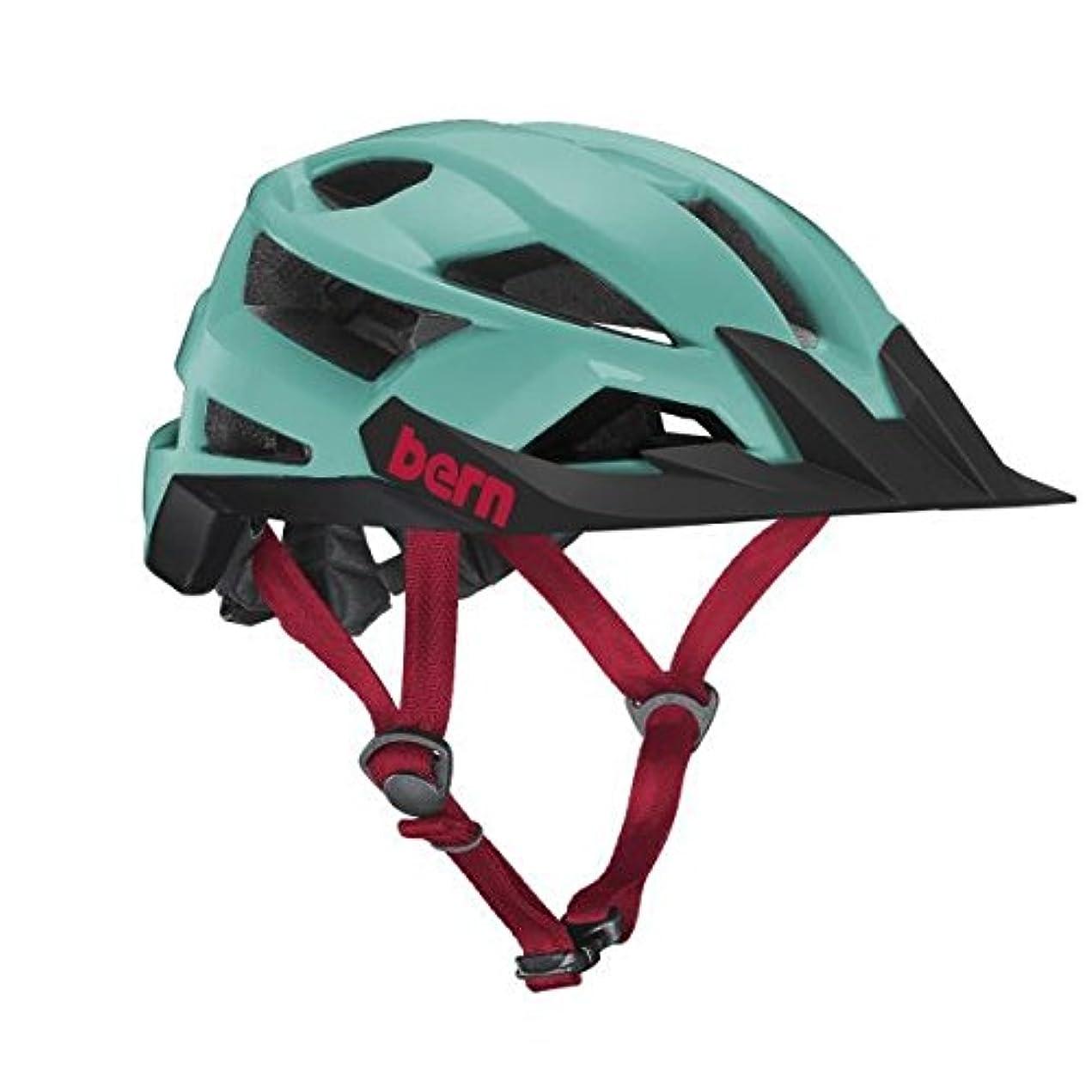 ガイドライン私たちのものもベルンFL-1 XCミップスヘルメット - マットターコイズラージ