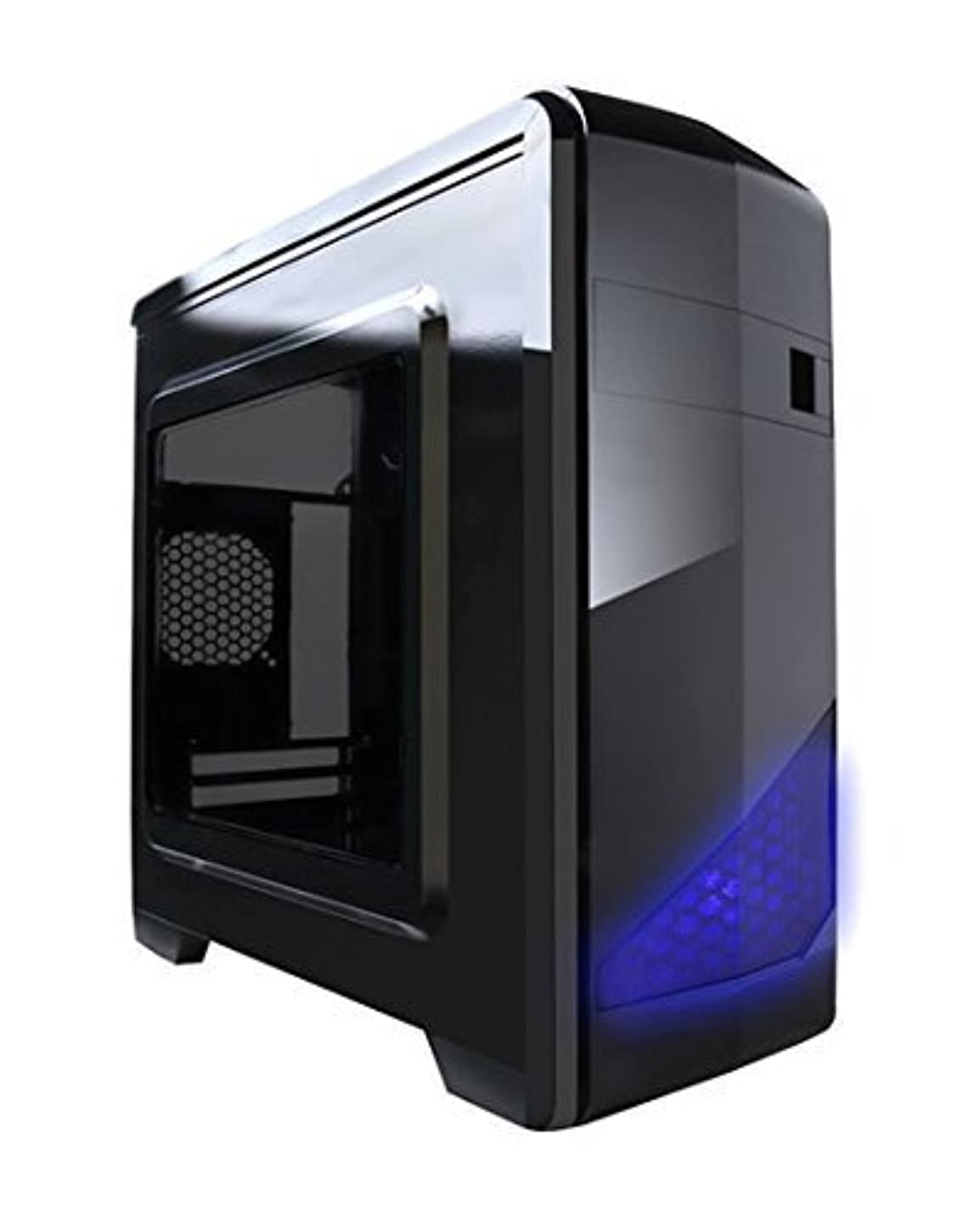 士気大統領謎Apevia x-qtis no電源供給MicroATXケース(ブラック)