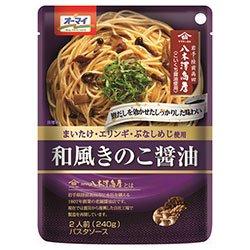 日本製粉 オーマイ 和風きのこ醤油 240g×24個入