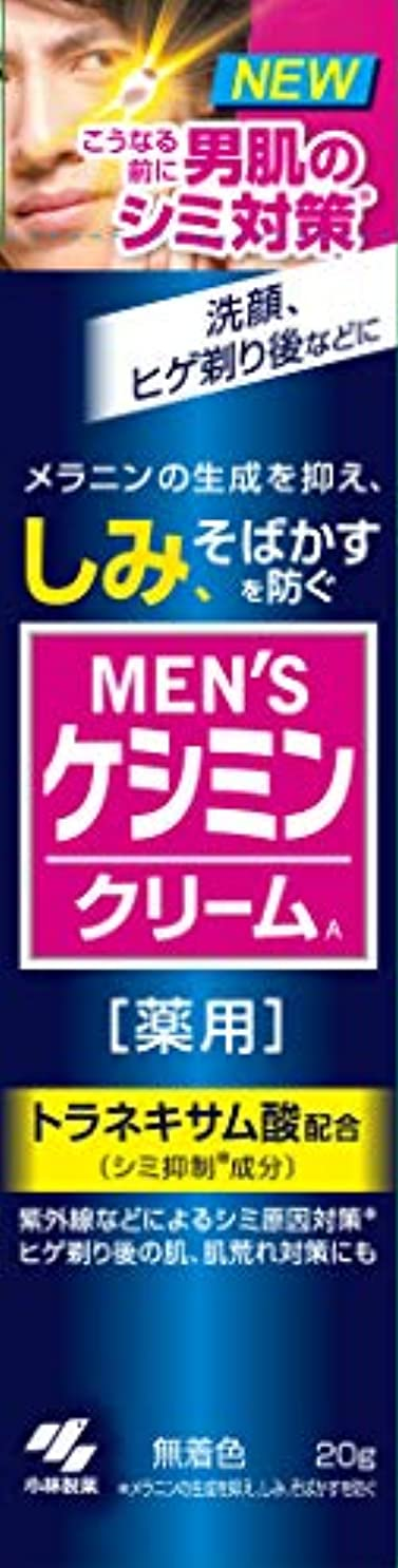 関連付ける戸惑うピアノを弾くメンズケシミンクリーム 男のシミ対策 20g 【医薬部外品】