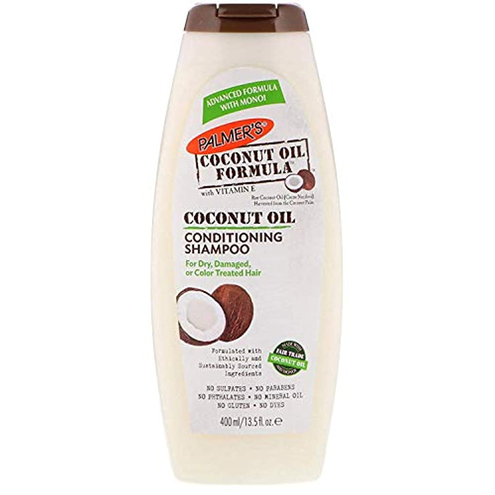 器具コート一口Palmer's ココナッツオイル ダメージヘア水分補給 シャンプー 13.5 fl oz (400 ml) [並行輸入品]
