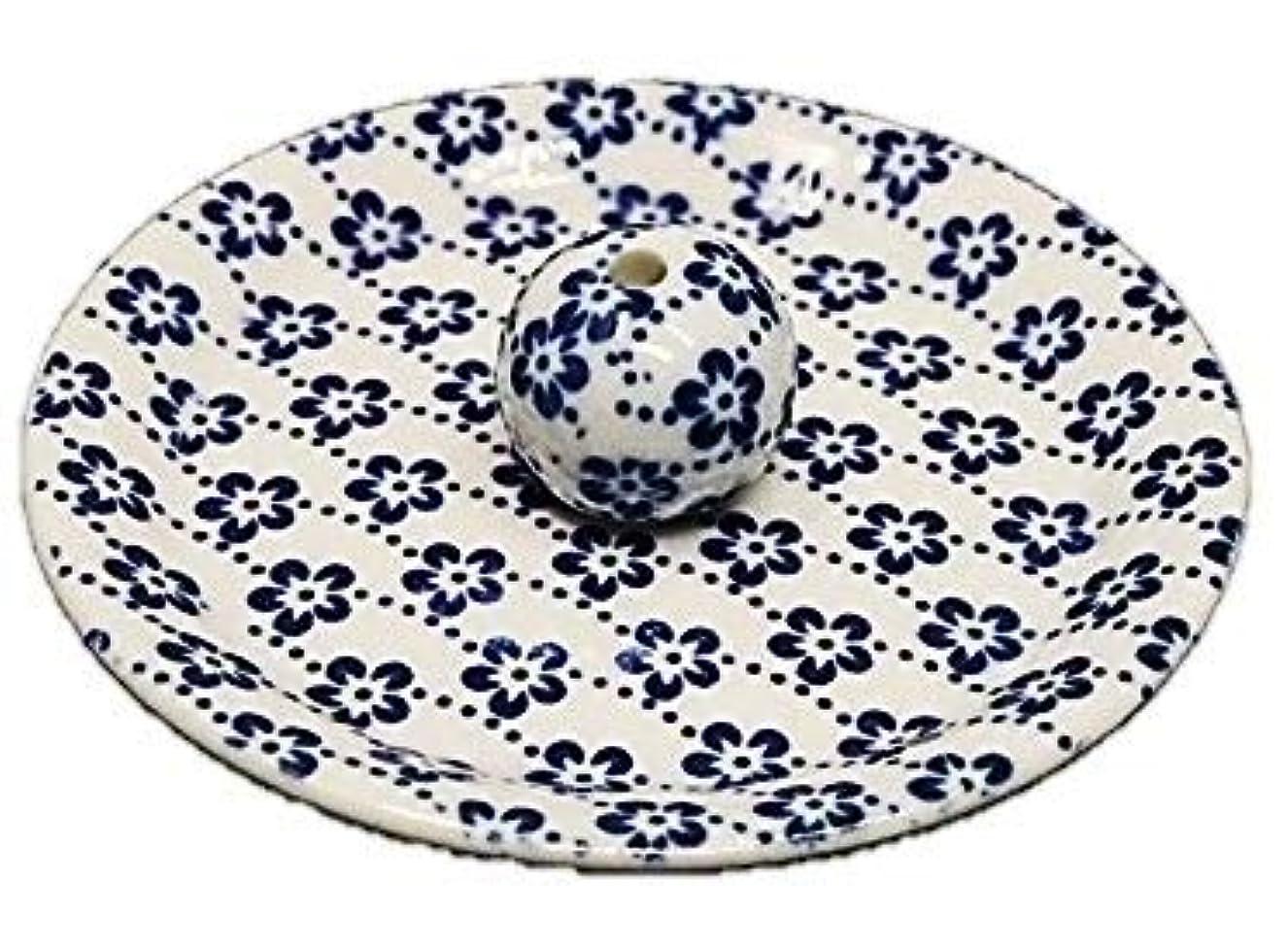 9-25 梅花 9cm香皿 お香立て お香たて 陶器 日本製 製造?直売品