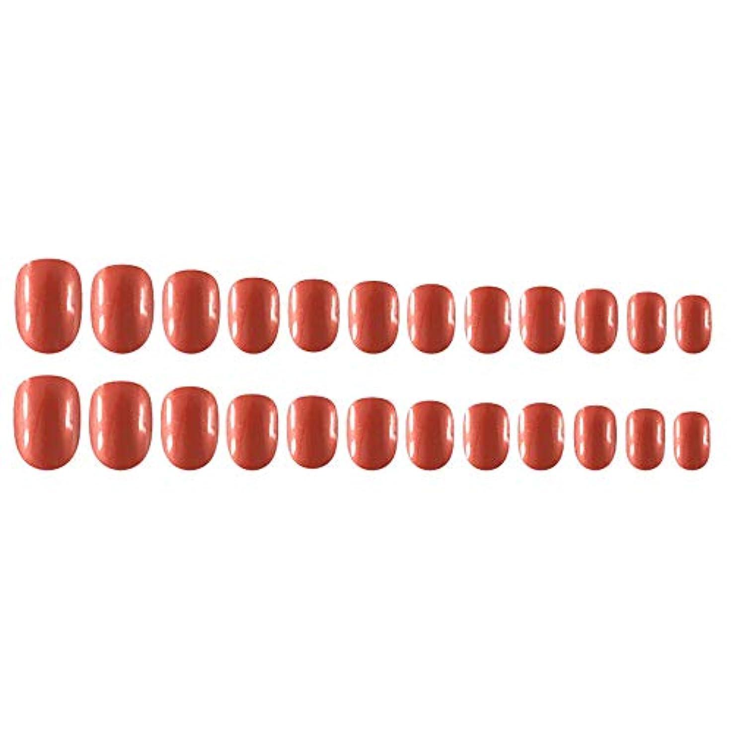 用量断線責Decdeal Decdeal ネイルチップ 24ピース 12異なるサイズ diy サロン ネイルアートツール 偽