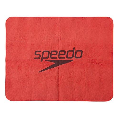 Speedo(スピード) セームタオル スイムタオル 水泳 プール スタック 暑さ対策 小 RE(レッド) SD98T50