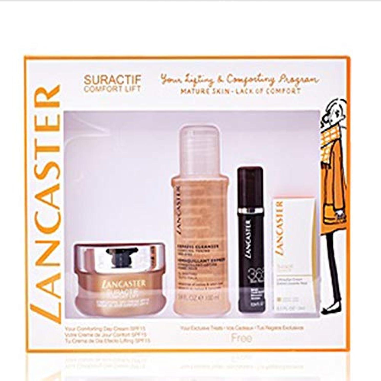 千ブラウズ勃起ランカスター Suractif Comfort Lift Set: Comforting Day Cream 50ml+ Serum Youth Renewal 10ml+ Lifting Eye Cream 3ml+...