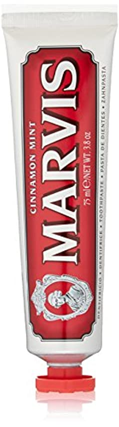 ラック打ち上げる電池MARVIS(マービス) シナモン?ミント(歯みがき粉) 75ml