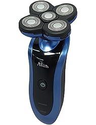 Allans 回転式 5枚刃 ブレード 洗える 充電 電動 髭剃り ウォッシャブル メンズ シェーバー MEBM-26