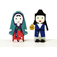 Korea Character Papertoy - Chun Hyang Jeon Set