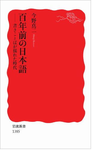 百年前の日本語――書きことばが揺れた時代 (岩波新書)の詳細を見る