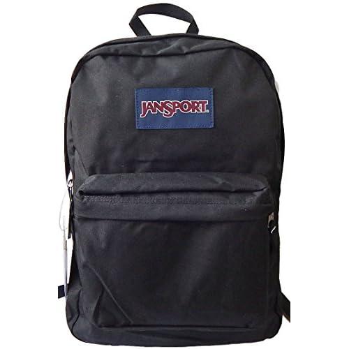 JanSport [ジャンスポーツ] SUPERBREAK (リュック・バックパック) T501 008 BLACK [並行輸入品]