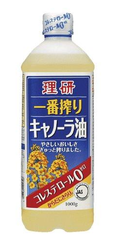 理研 一番搾りキャノーラ油 1000g