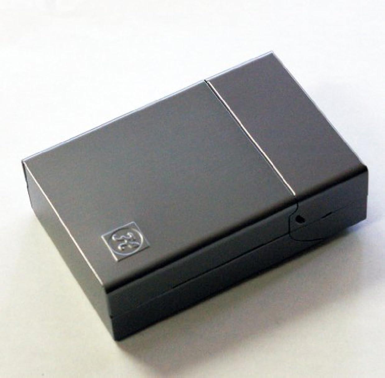 数リラックスした器具シガレットケース テクト CIGARETTE PROTECTION TECT ボックスごと収納できる!! (シルバー)