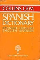 Spanish-English, English-Spanish Dictionary (Gem Dictionaries)
